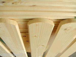 Dřevěné plotovky levně